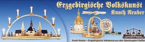 Knuth Neuber Original Seiffener Schwibbögen